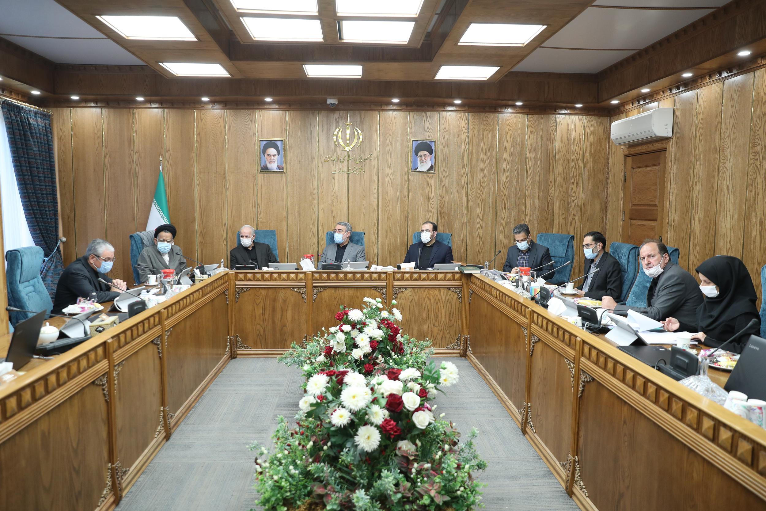 جلسه اصلی کمیسیون سیاسی و دفاعی مورخ 5 شهریور 1399
