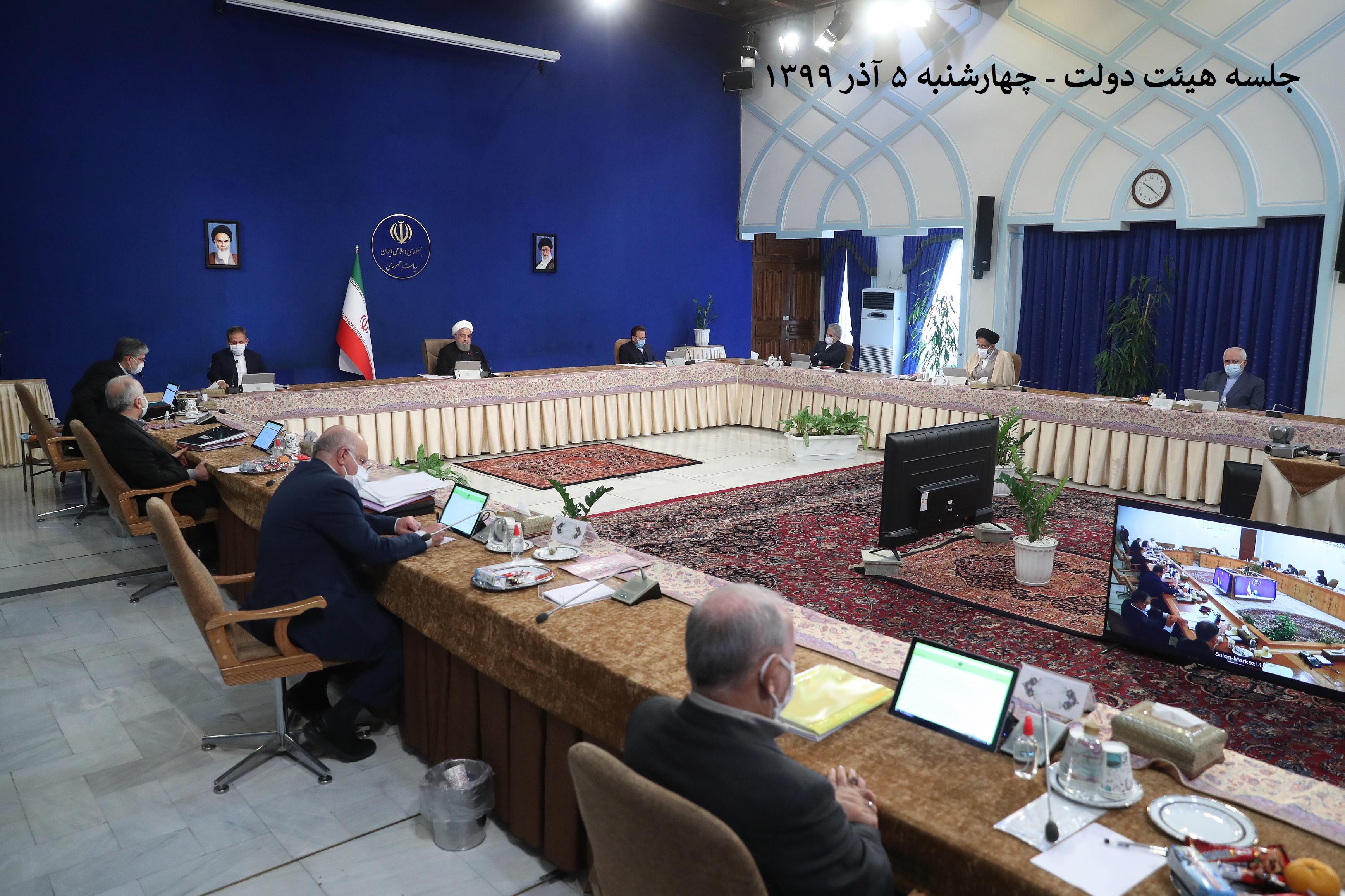 بحث و بررسی هیئت دولت پیرامون راهکارهای اجرای رهنمودهای مقام معظم رهبری