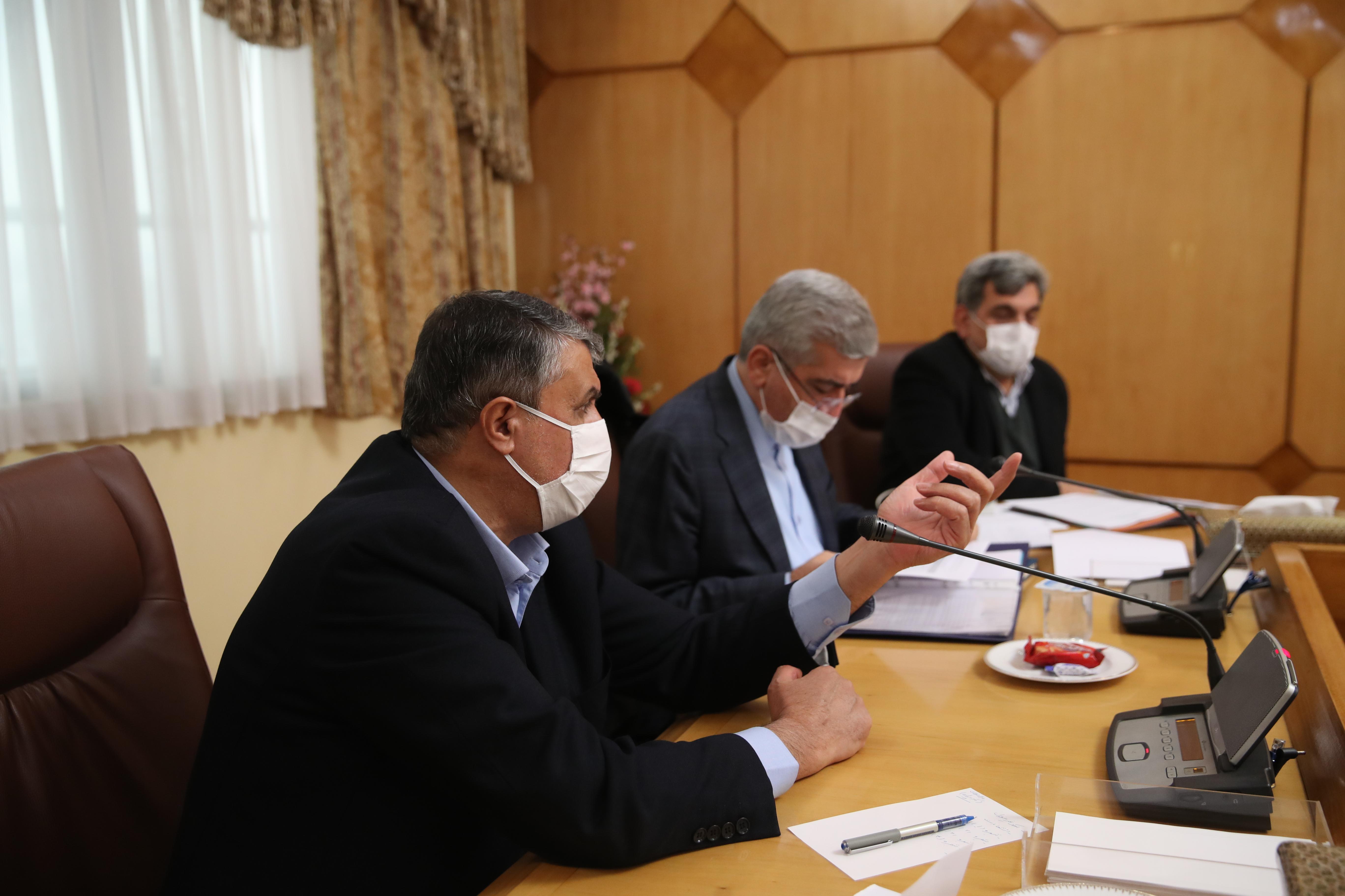 جلسه اصلي كميسيون خاص امور كلان شهرها در تاریخ 16 آذر 1399