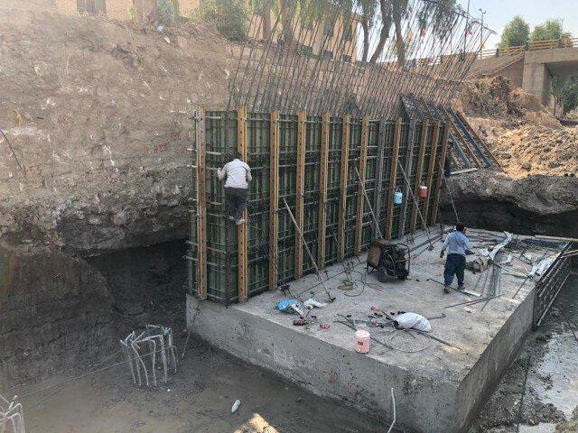 تخصیص اعتبار برای اجرای پروژه دیواره سازی در رودخانه کشکان استان لرستان