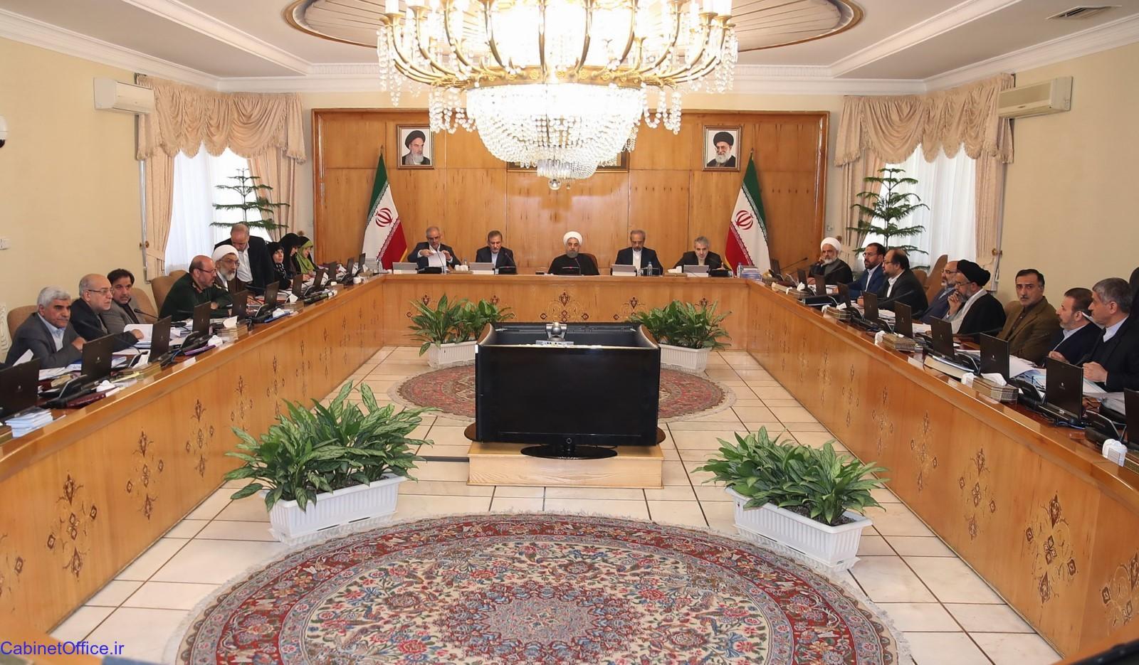 بررسی مسایل روز کشور در جلسه امروز هیئت دولت
