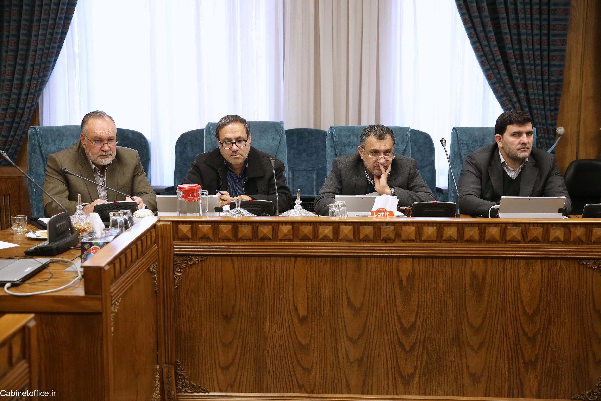 تشکیل جلسه اصلی کمیسیون امور زیربنایی، صنعت و محیط زیست در تاریخ ۹ دی ماه ۱۳۹۷
