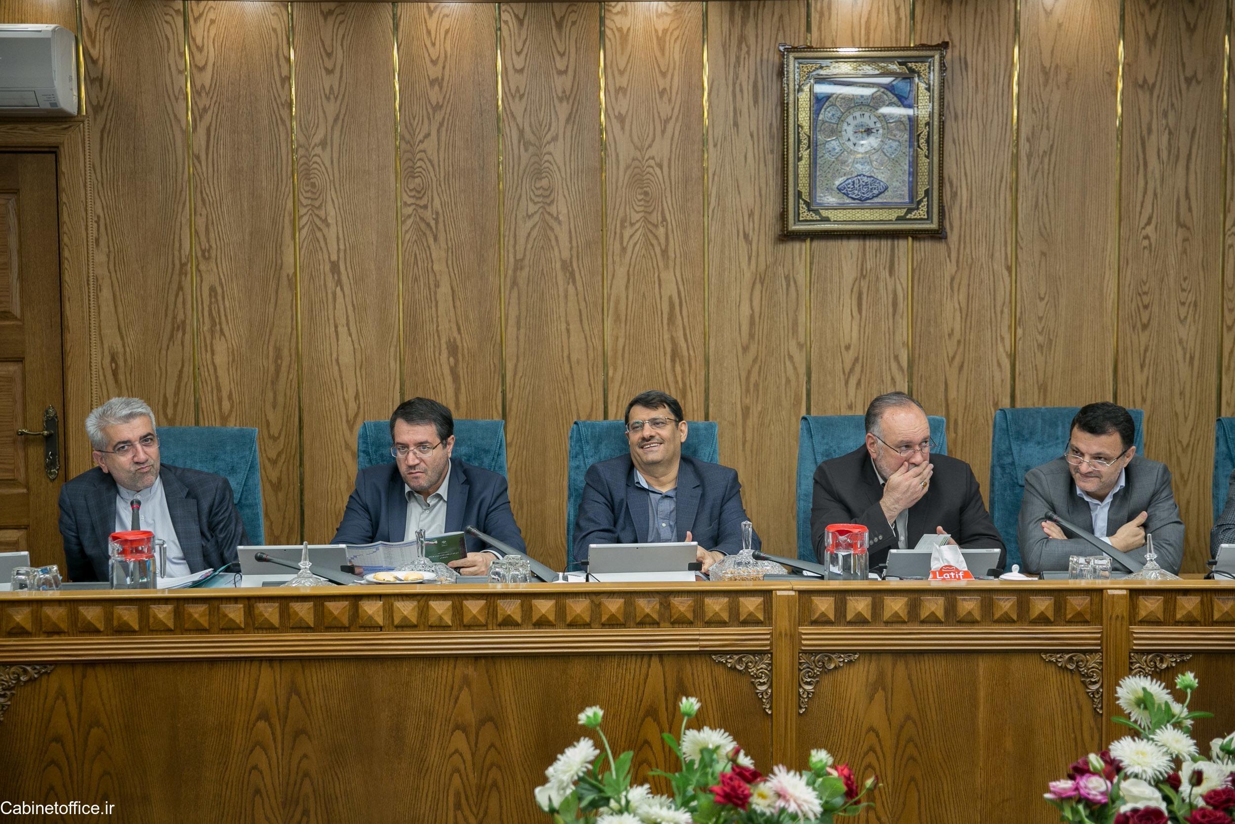 تشکیل جلسه اصلی کمیسیون امور زیربنایی، صنعت و محیط زیست در تاریخ 27 آبان ماه 1397