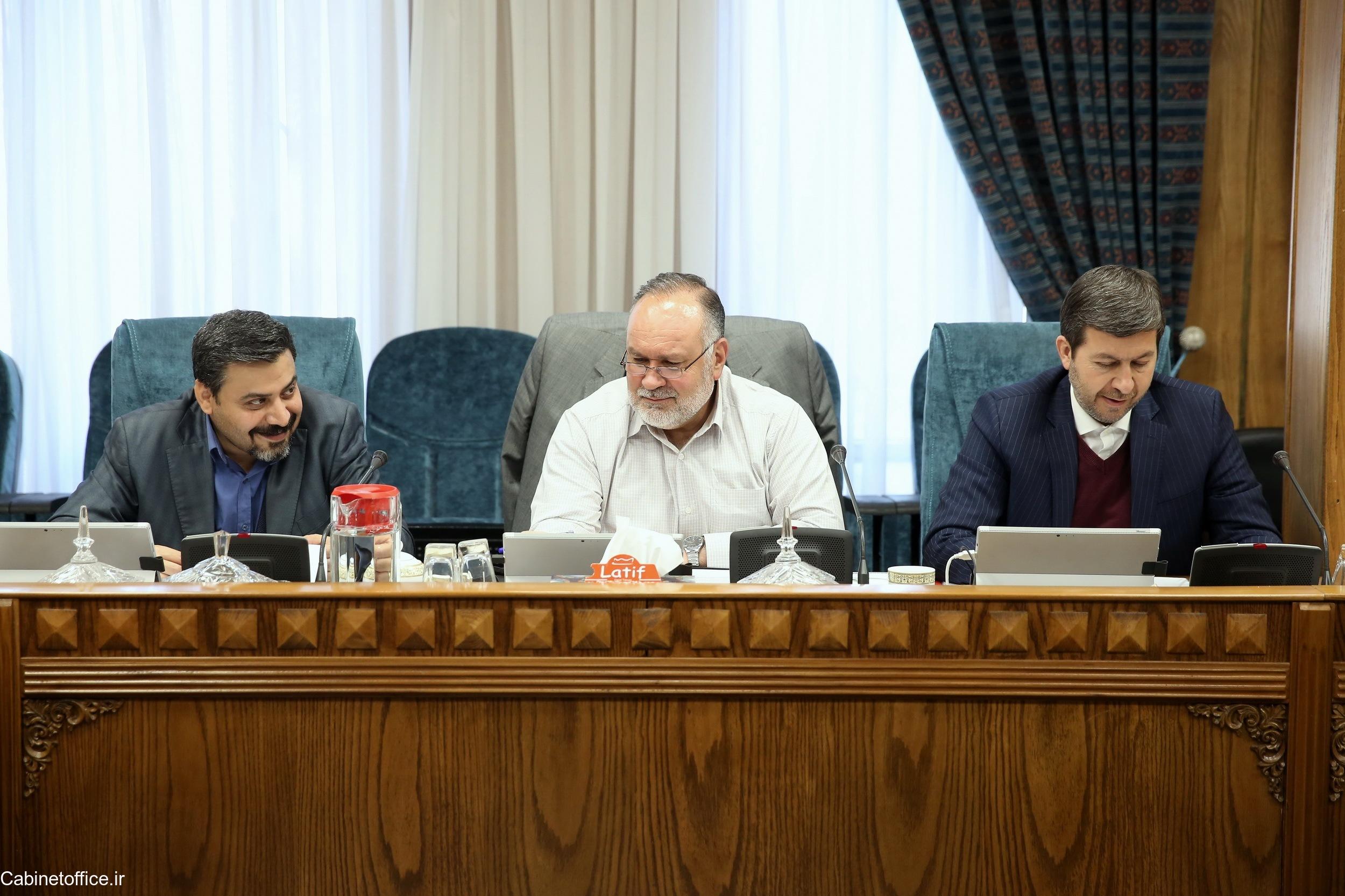 تشکیل جلسه اصلی کمیسیون امور زیربنایی، صنعت و محیط زیست در تاریخ 25 آذر ماه 1397