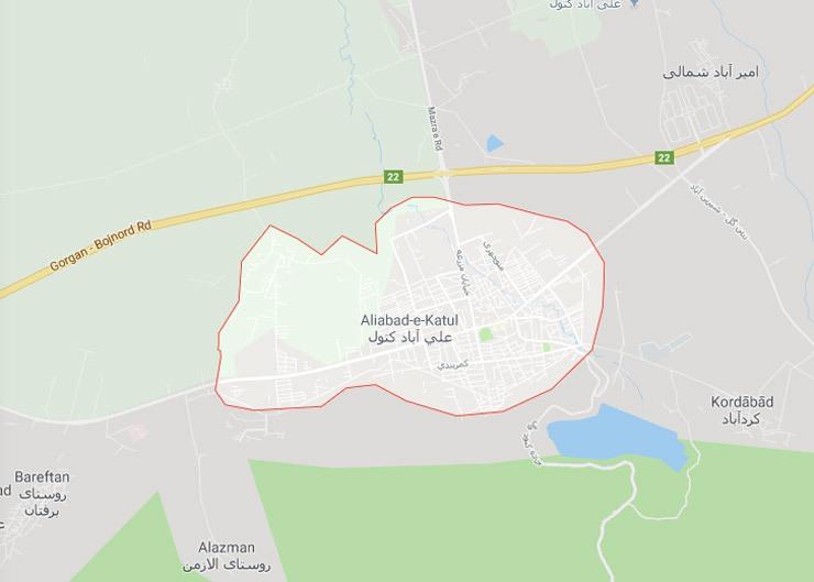 تغییر نامشهرستان علیآباد استان گلستان به علیآباد کتول