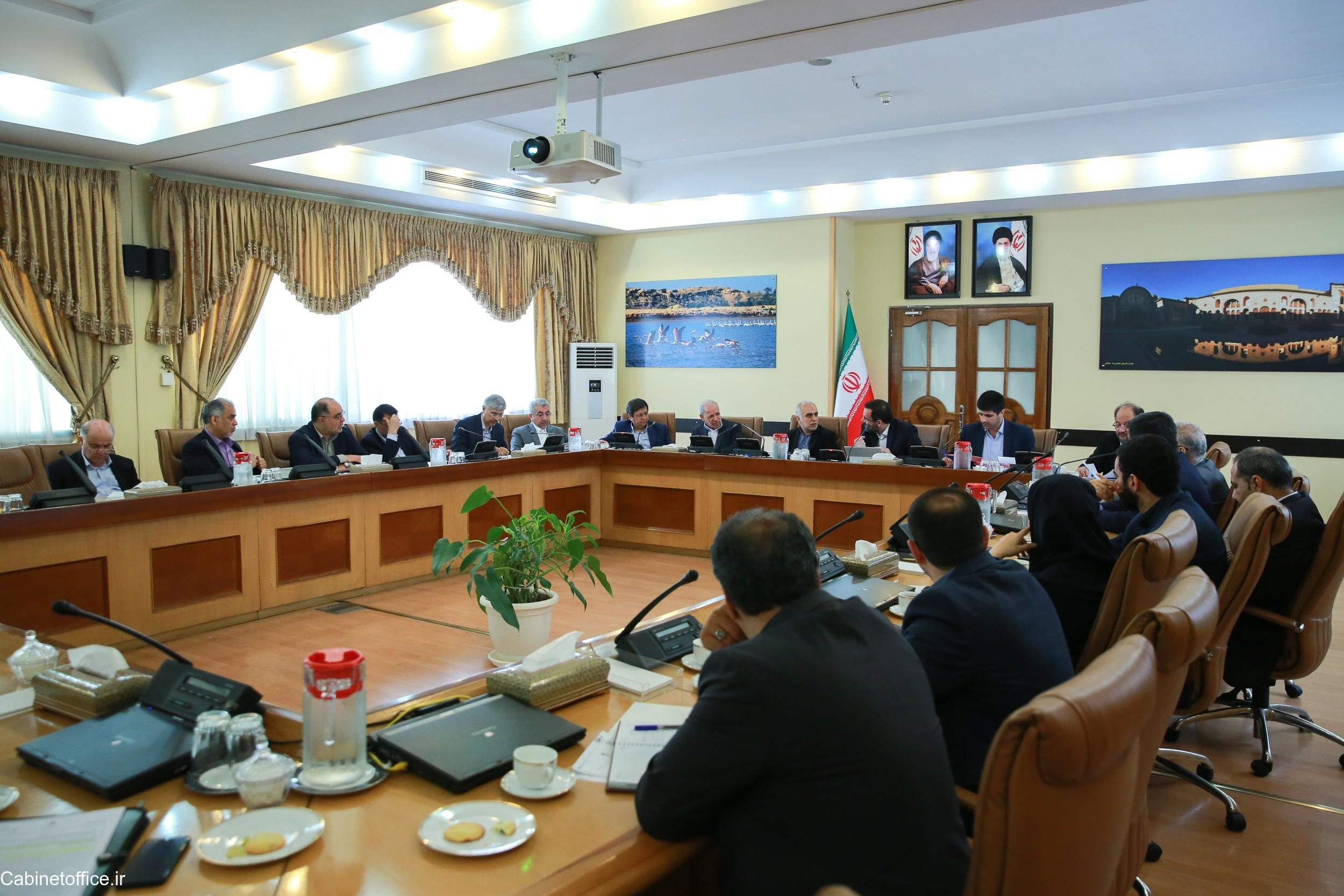 جلسه اصلی کمیسیون اقتصاد در تاریخ ۲۴ تیر ماه ۱۳۹۸