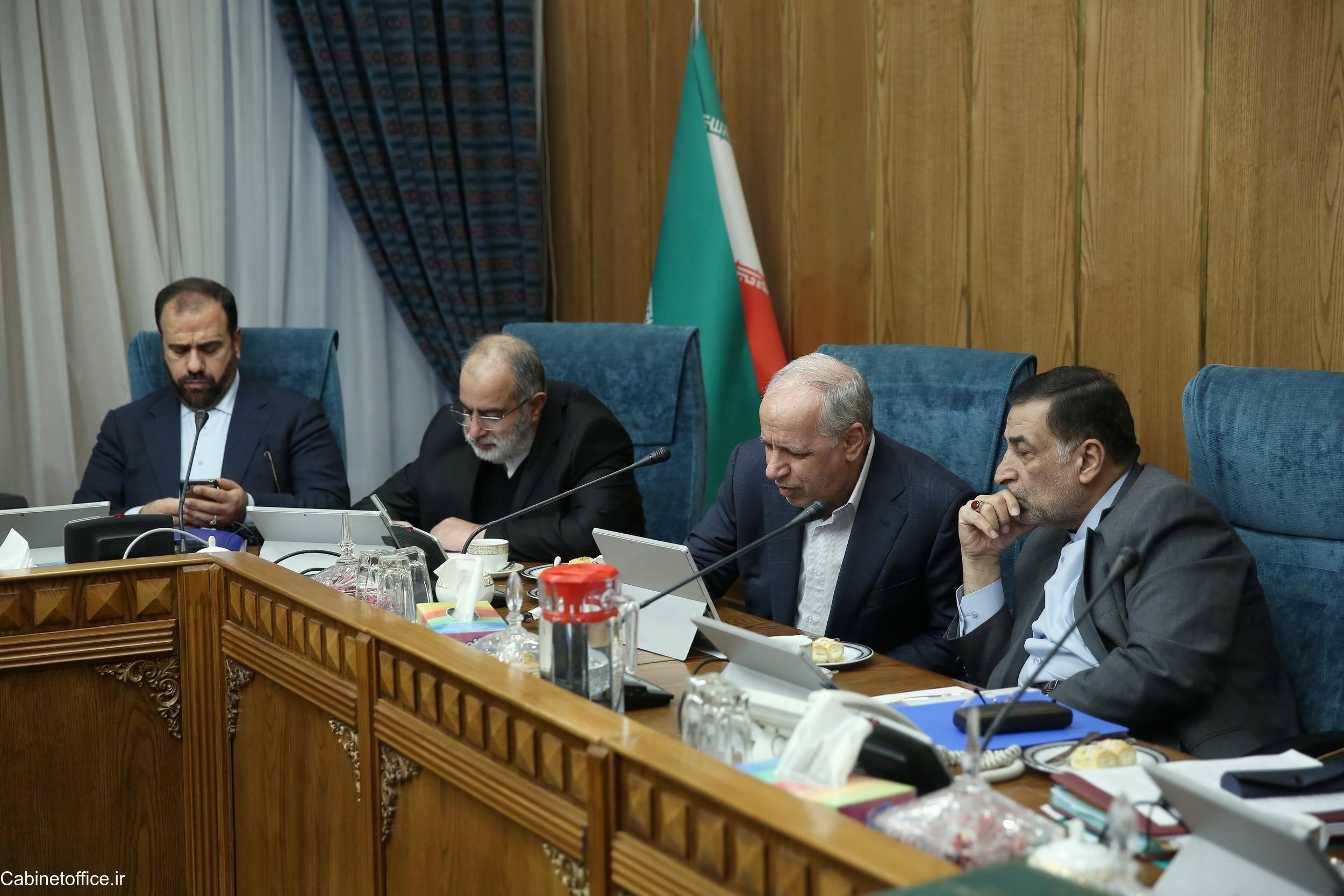 جلسه اصلی کمیسیون لوایح در تاریخ ۲۳ آذر ۱۳۹۸