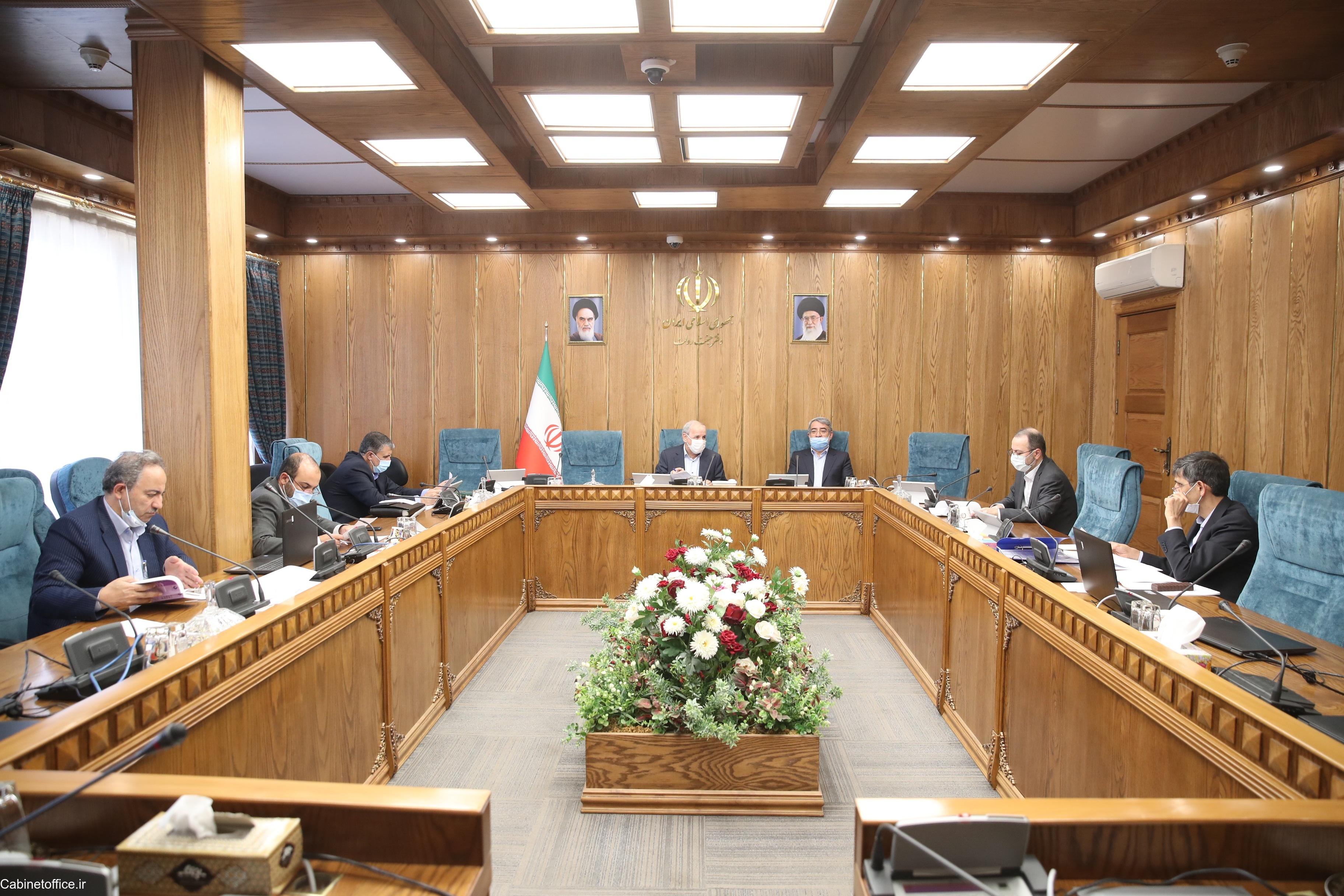 جلسه اصلی کمیسیون امور اجتماعی و دولت الکترونیک در تاریخ ۱۱ خرداد ۱۳۹۹