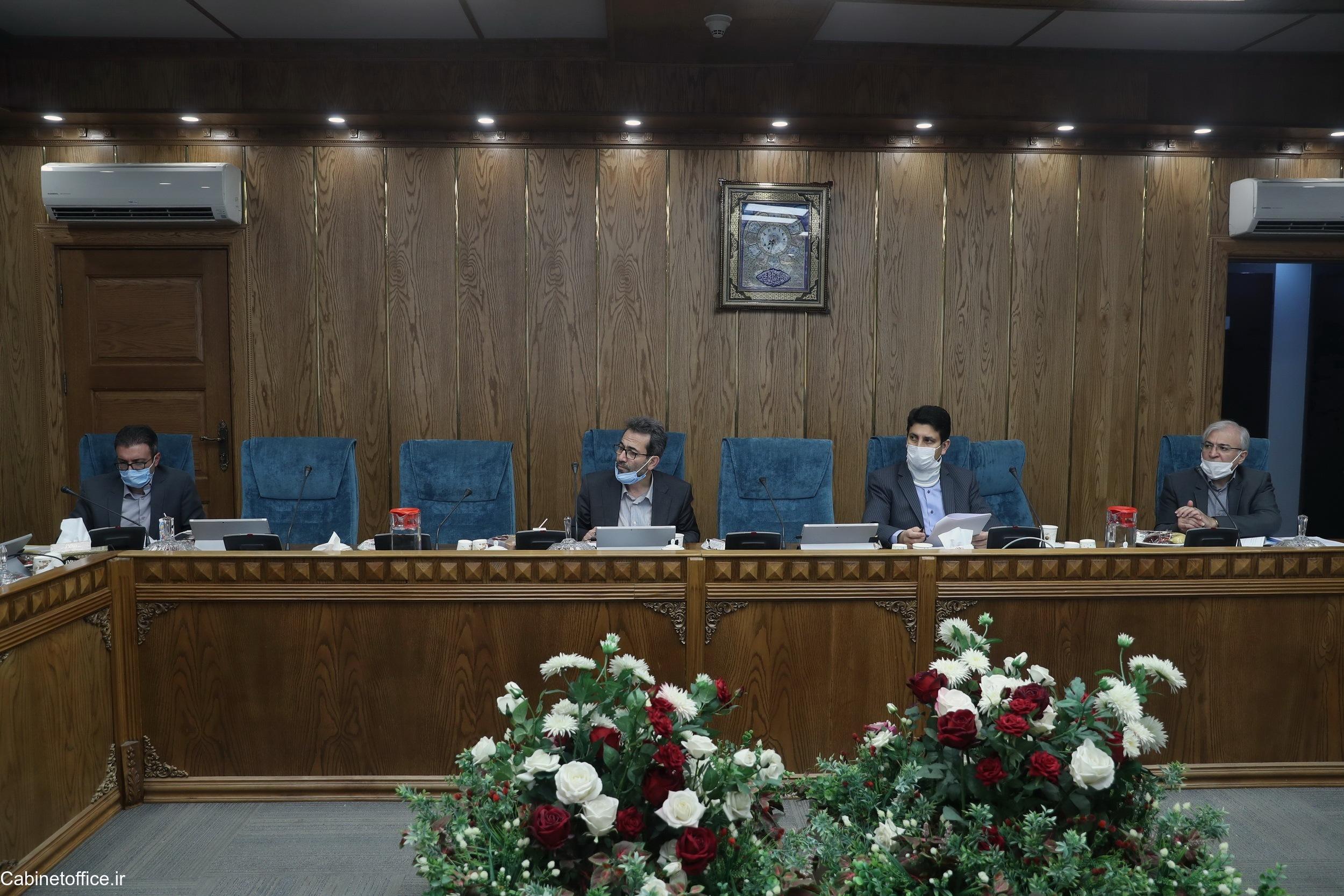 جلسه اصلی کمیسیون علمی، تحقیقاتی و فناوری در تاریخ یکم مرداد ۱۳۹۹