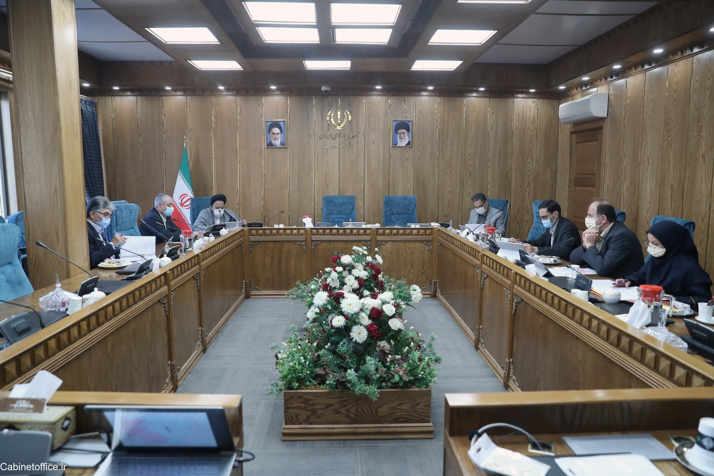 جلسه اصلی کمیسیون سیاسی و دفاعی در تاریخ ۸ مرداد ۱۳۹۹